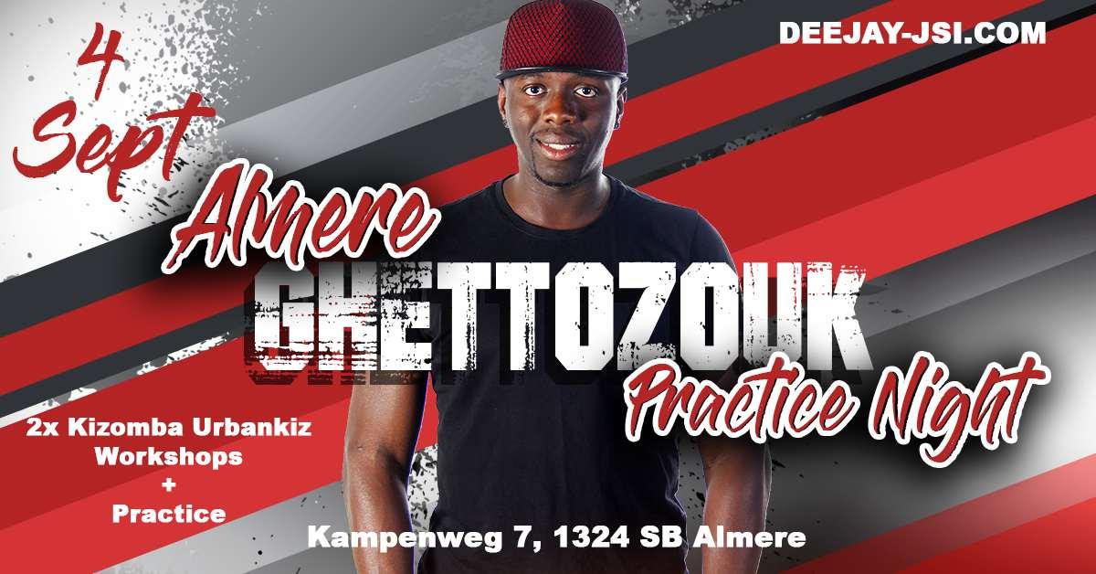 4 sept ghettozouk night deejay jsi in almere Kizomba practice